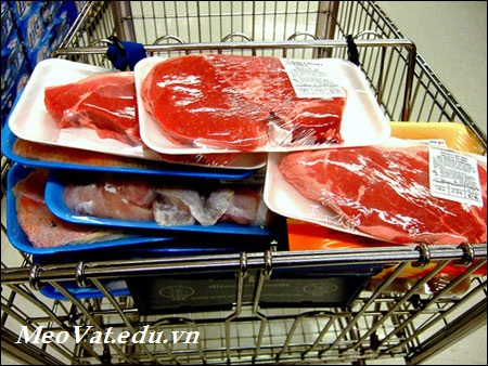 3 lưu ý khi chế biến thịt, 3 luu y khi che bien thit