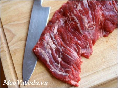 Cách chọn mua thịt tươi trước khi chế biến, cach chon thit tuoi ngon