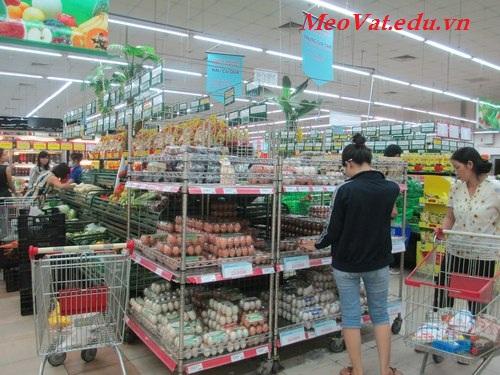 Mẹo vặt đi chợ chọn mua thực phẩm sạch. meo vat di cho chon mua thuc pham sach