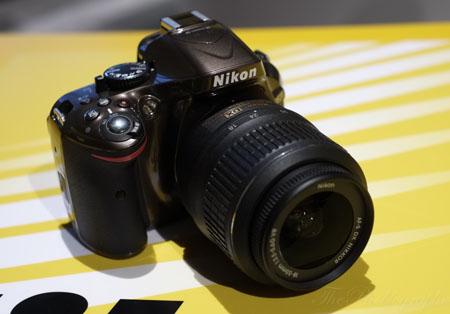 Nikon D5200 and D5100