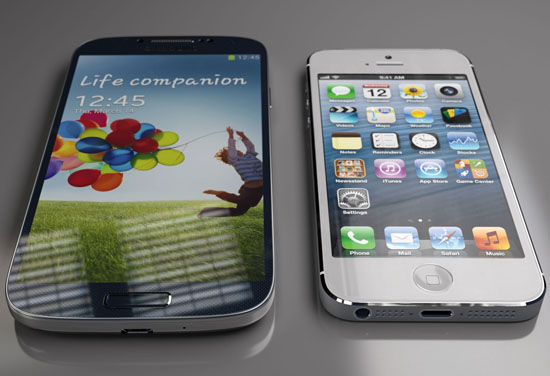 Galaxy S4 vs iPhone 5, Review and comparing