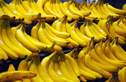 Chuối là một loại hoa quả giúp bạn trẻ lâu hơn