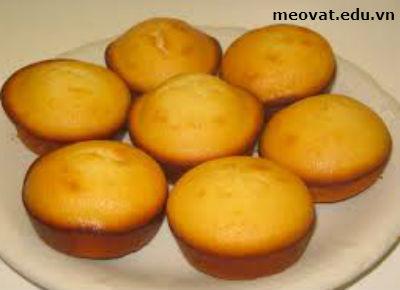 8 lưu ý khi nướng bánh, luu y khi nuong banh giup banh chin deu thom ngon