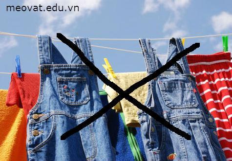 Cách giặt quần jean, cach giat quan jean