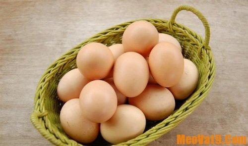 Mẹo nhỏ giúp chế biến và bảo quản trứng