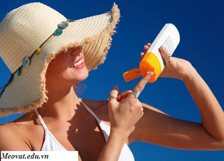 Cách sử dụng kem chống nắng an toàn, lua chon kem chong nang phu hop