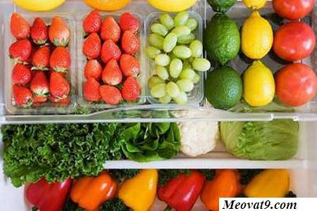 Cách bảo quản trái cây, rau trong tủ lạnh được lâu nhất