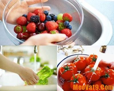 Hướng dẫn các cách tẩy sạch hóa chất trên rau quả  nhanh và đơn giản nhất