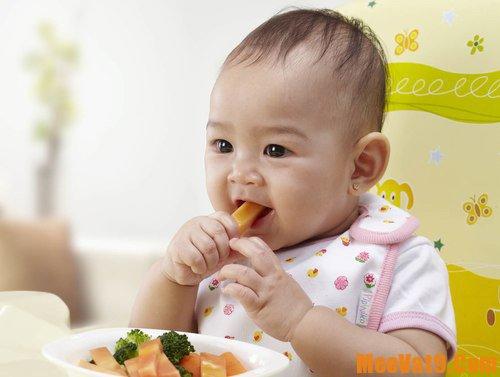 Những mẹo hay, đơn giản giúp trẻ thích ăn rau củ