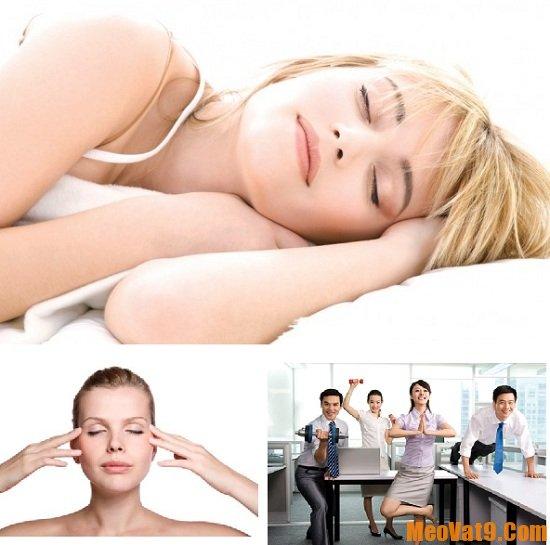 Massage, tập thể dục giúp tỉnh táo hơn sau giờ nghỉ trưa