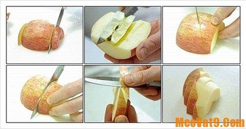 Cách gọt các loại quả nhanh
