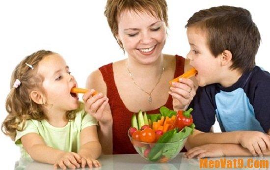 Hướng dẫn cách giúp trẻ ăn nhiều rau củ quả hơn