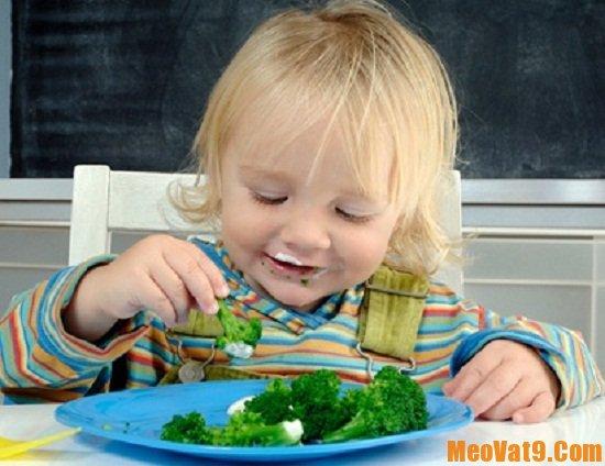 Cách hay giúp bé ăn nhiều rau hơn hiệu quả