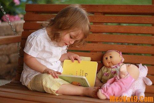 Mẹo giúp bé thích đọc sách và tự giác học tập