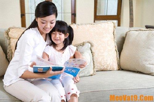 Mẹo giúp bé thích đọc sách
