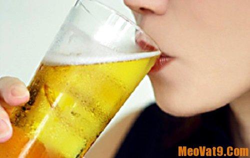 Mẹo làm đẹp với bia