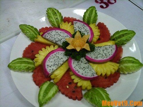 Mẹo trang trí rau củ quả đẹp mắt hấp dẫn bé