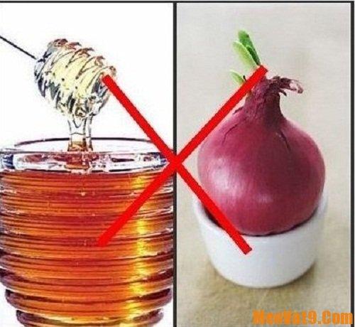 Các loại thực phẩm không nên kết hợp với nhau