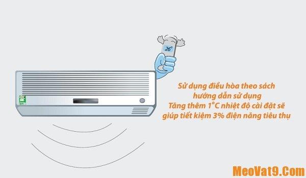 Mẹo sử dụng điều hòa tiết kiệm điện