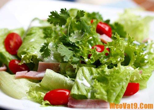 Ăn rau sống như thế nào là tốt cho sức khỏe