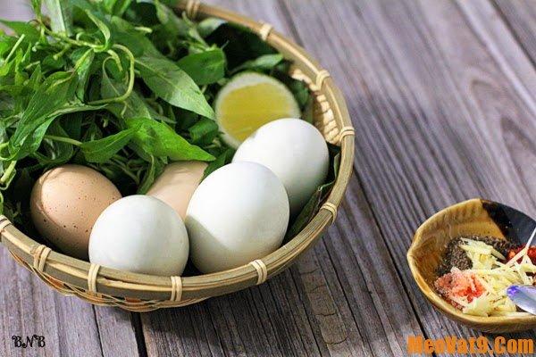 Mẹo chọn trứng vịt lộn ngon