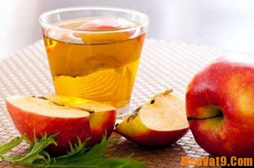 Mẹo giảm cân bằng giấm táo hiệu quả