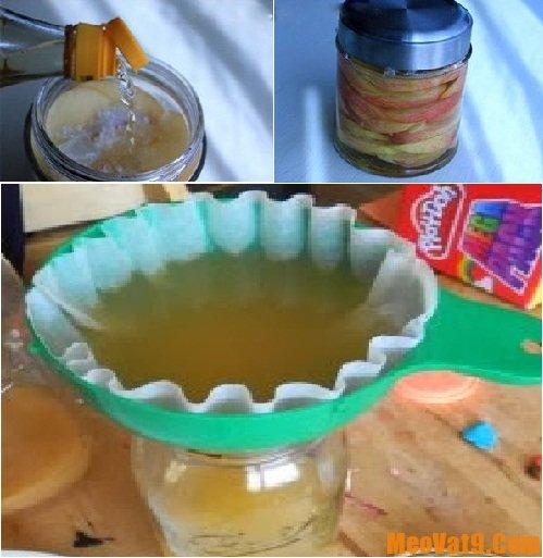 Chia sẻ cách làm giấm táo đơn giản nhất