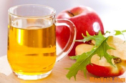 Mẹo làm đẹp da bằng giấm táo an toàn, đơn giản và hiệu quả