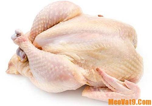 Cách nhận biết thịt gà bơm hóa chất