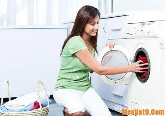 Mẹo sử dụng máy giặt đúng cách
