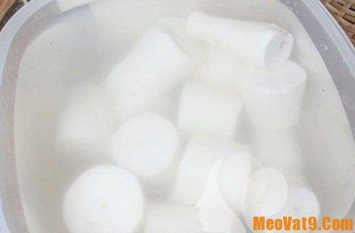 Mẹo sử dụng nước vo gạo