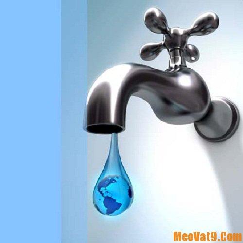 Mẹo sử dụng tiết kiệm nước nhất