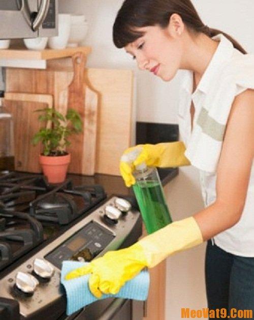 Cách vệ sinh nhà bếp cực nhanh