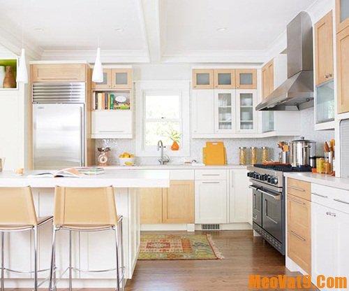 Mẹo giúp nhà bếp luôn sạch sẽ và sáng bóng