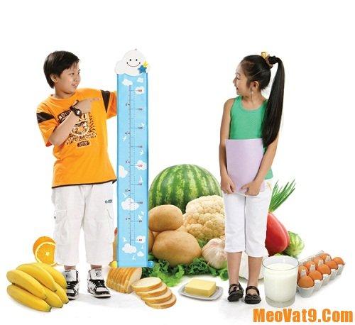 Mẹo nhận biết những loại thực phẩm kìm hãm chiều cao của trẻ