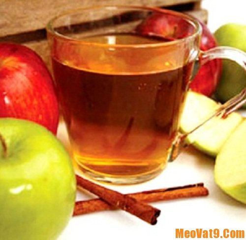 Mẹo trị các loại mụn bằng giấm táo