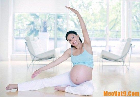Những bài thể dục cực tốt cho mẹ bầu