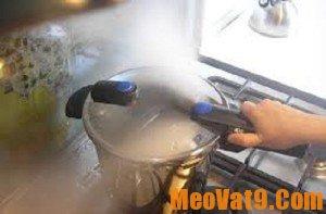Mẹo sử dụng nồi áp suất hiệu quả va an toàn