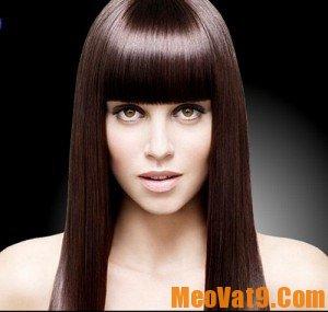 Mẹo chăm sóc tóc ép thẳng nếp, khỏe mạnh, bóng mượt và không bị chẻ ngọn
