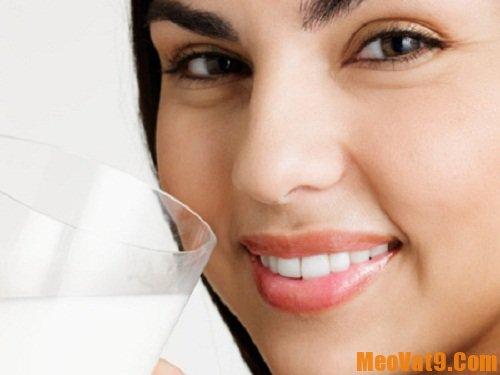 Sữa là thực phẩm giúp răng khỏe mạnh, sáng bóng tự nhiên hiệu quả nhất