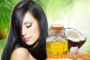 Mẹo dưỡng tóc bằng dầu dừa