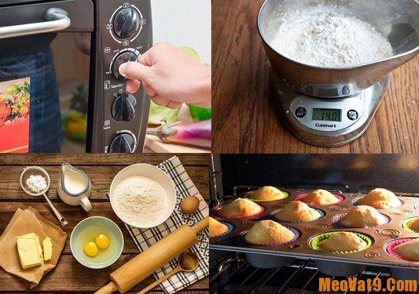 Mẹo nướng bánh ngon