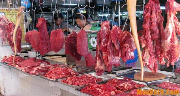 Mẹo nhận biết thịt trâu và thịt bò
