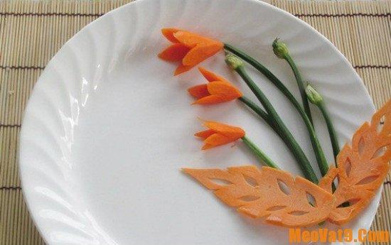Mẹo tỉa hoa cà rốt đẹp mắt