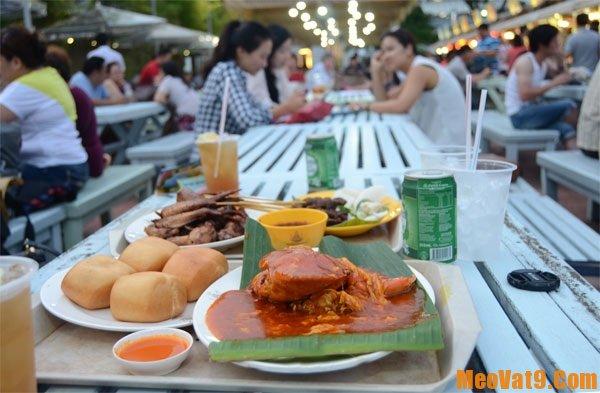Một số trung tâm ăn uống ngon, rẻ, chất lượng nên đến nhất khi du lịch Singapore