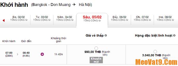 Mẹo săn vé giá rẻ du lịch Bangkok dịp Tết cực thú vị và độc đáo