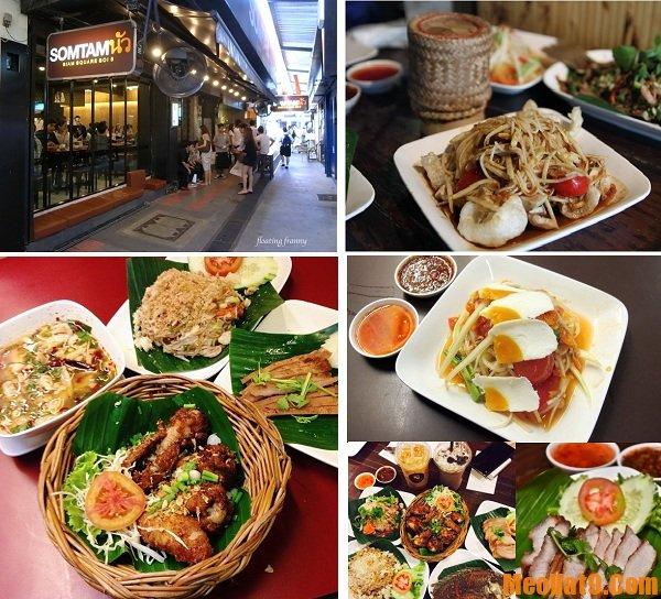 Những nhà hàng Bangkok được du khách Việt yêu thích nhất