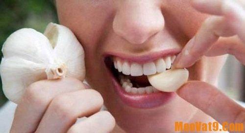 Mẹo dùng tỏi tốt cho sức khoẻ