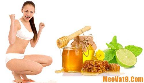 Mẹo giảm cân bằng mật ong hiệu quả