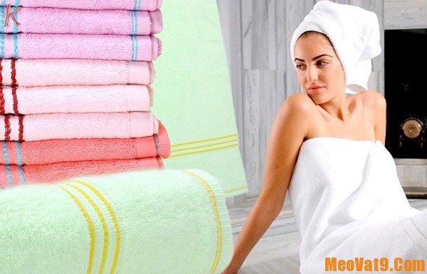 Chọn và sử dụng khăn tắm an toàn